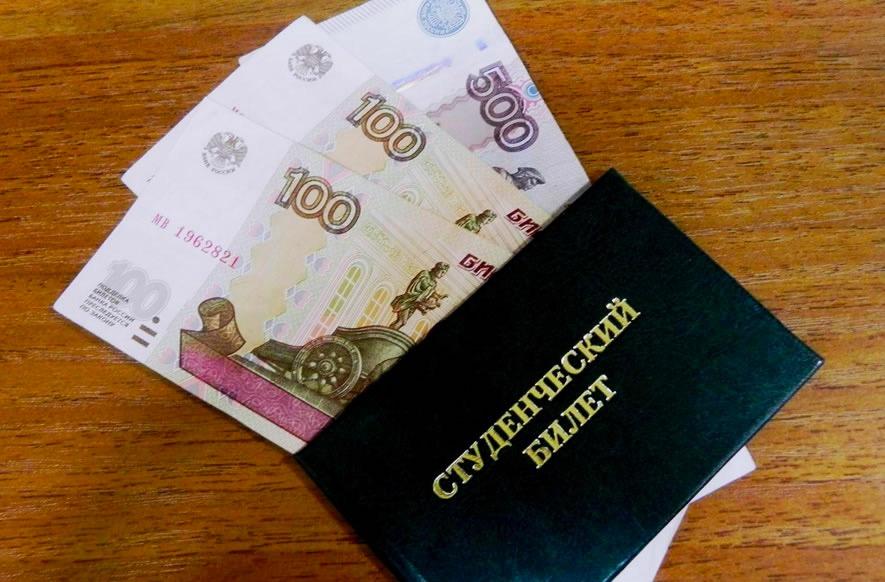 Стипендия в России виды