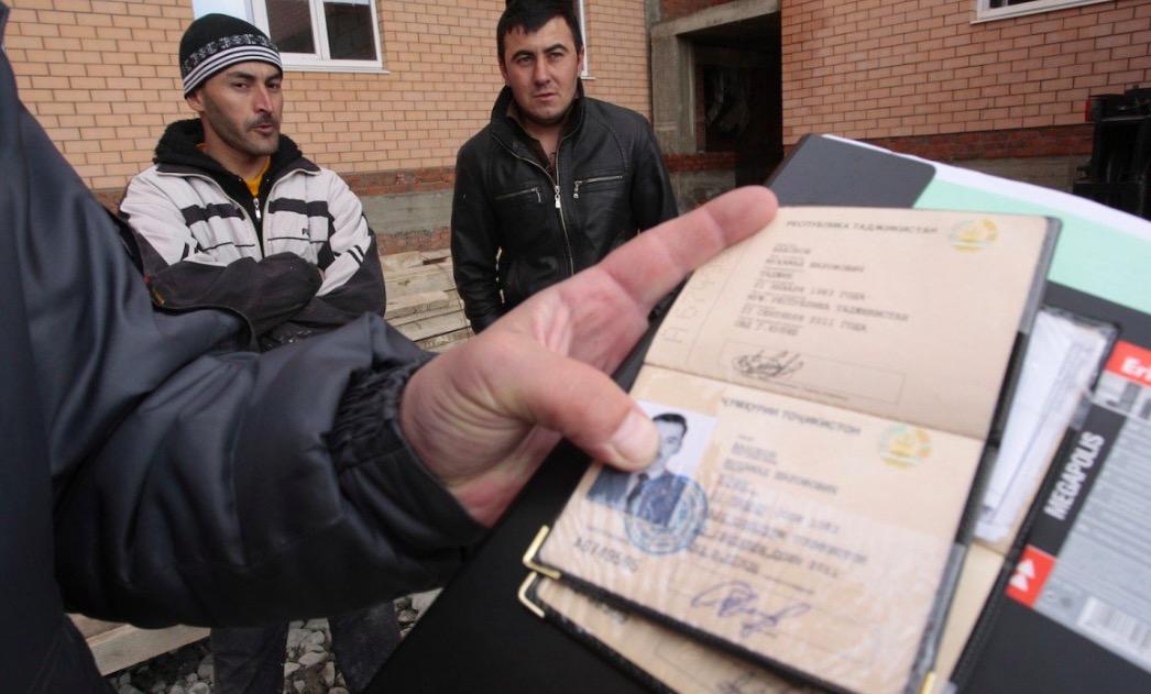 Штраф работодателям за мигрантов